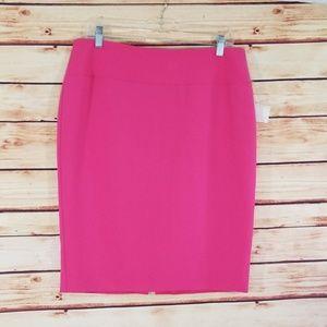 NWT {Alfani} Pink pencil skirt